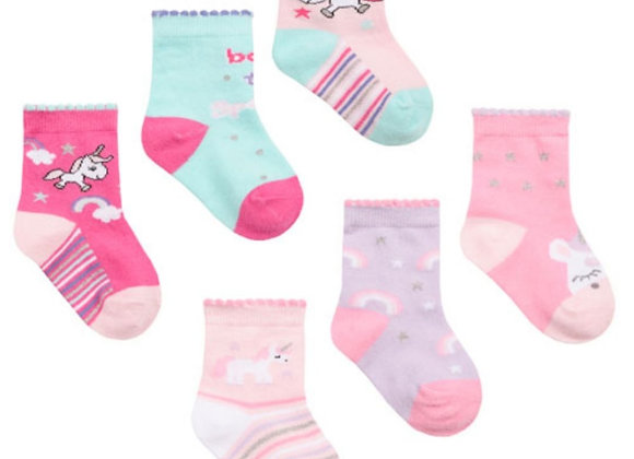 Baby unicorn socks (3pk)
