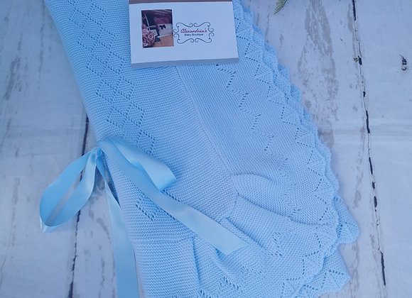 Large ribbon blue