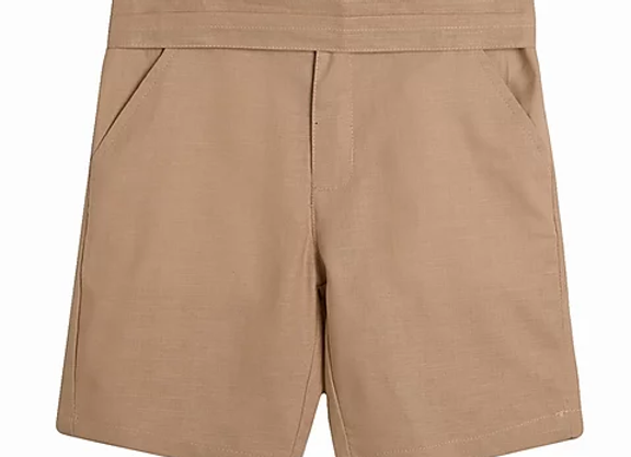 Newness taupe shorts