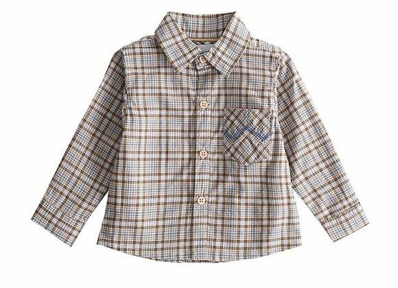 Newness baby check shirt
