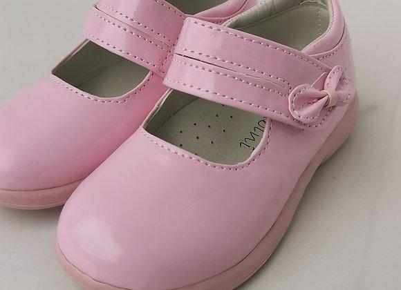 Pink plain shoe