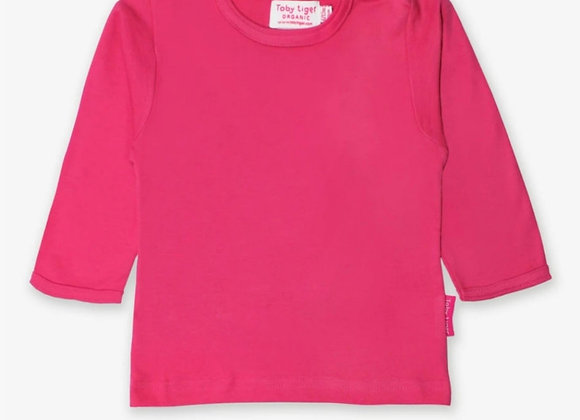 Toby tiger pink top