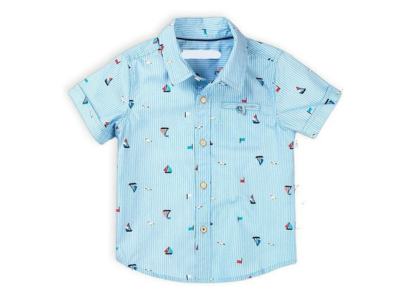 N boy's nautical shirt