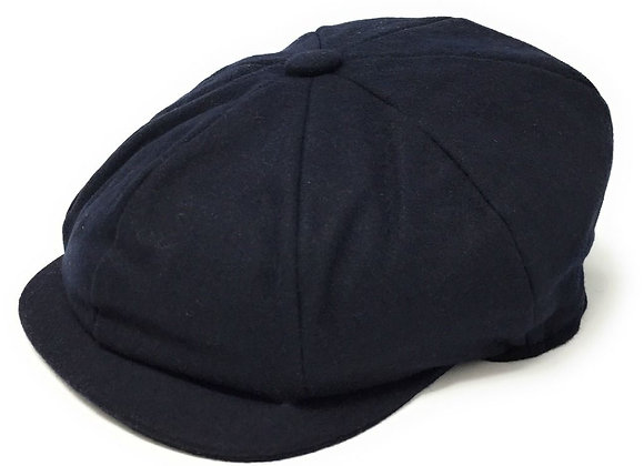 Navy baker boys hat
