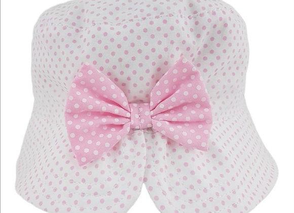 Polka pink hat