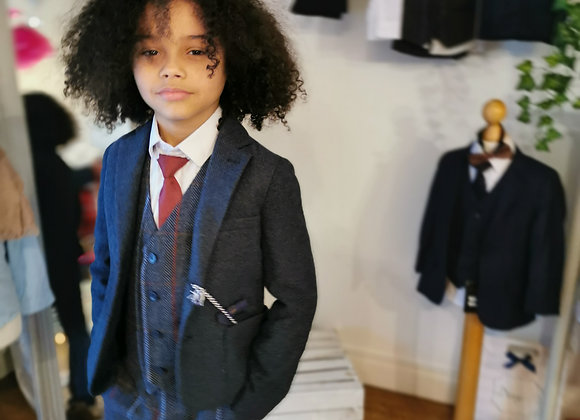 Enzo 5 piece suit