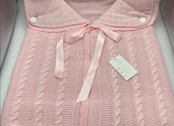 Pink pram snuggle