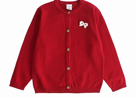 Newness red cardigan