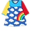 Thumbnail: Toby tiger rainbow dress