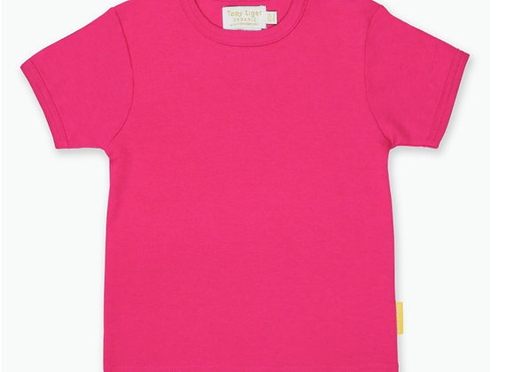 Toby tiger pink t