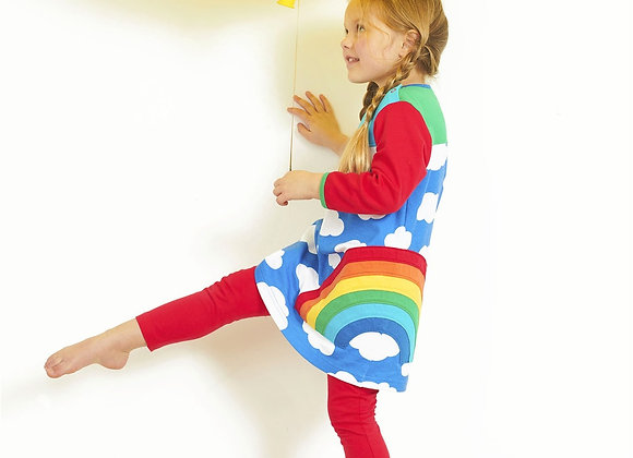 Toby tiger rainbow dress