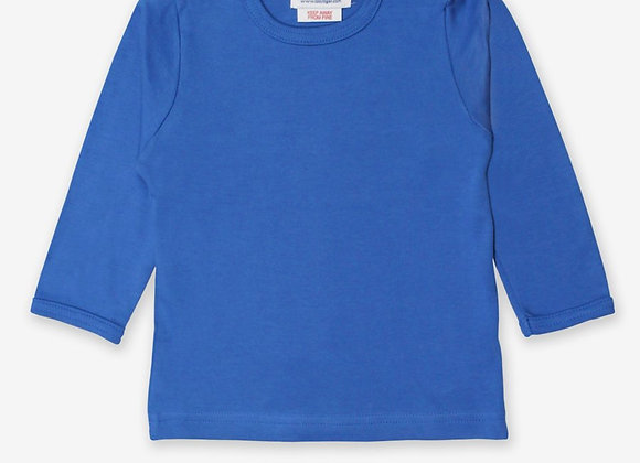 Toby tiger blue top