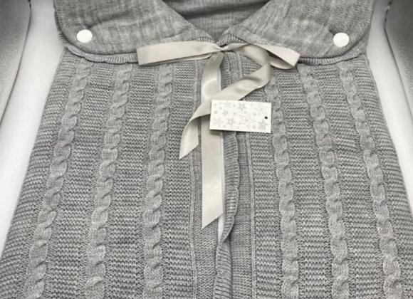 Grey pram snuggle