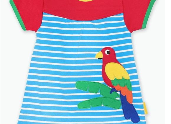 Toby tiger parrot dress