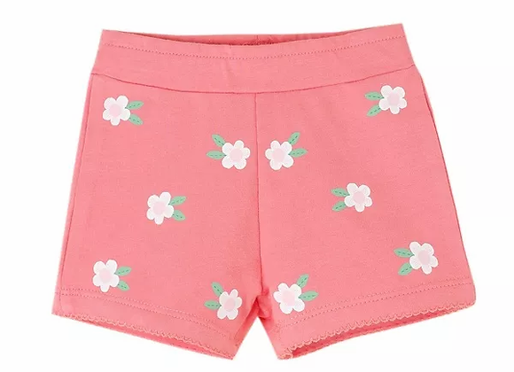 Newness pink flower shorts