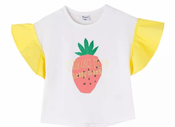 Newness strawberry top