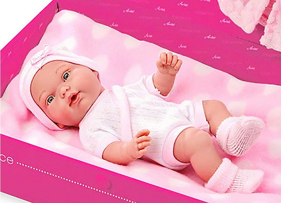 Elegance doll with clothes and pillow 26cm (display mo