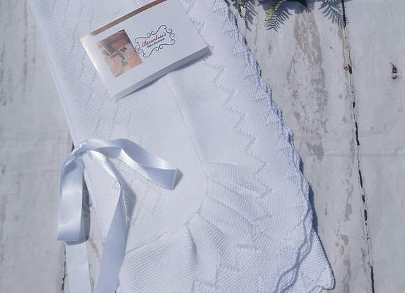 Large ribbon white