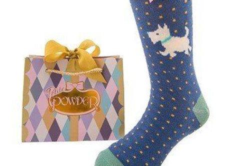 Ankle cute doggie socks
