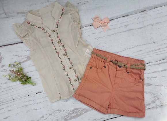 Lara shorts set