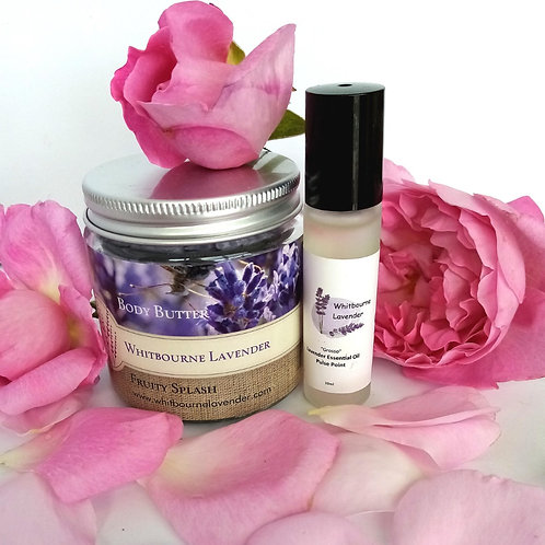 Lavender Essential Oil -'Grosso' Roll-on