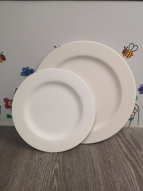 SMALL Rimmed Plate