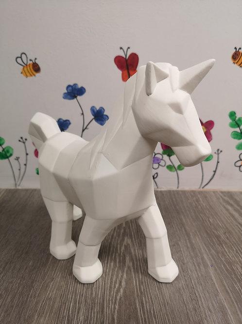 Faceted Unicorn