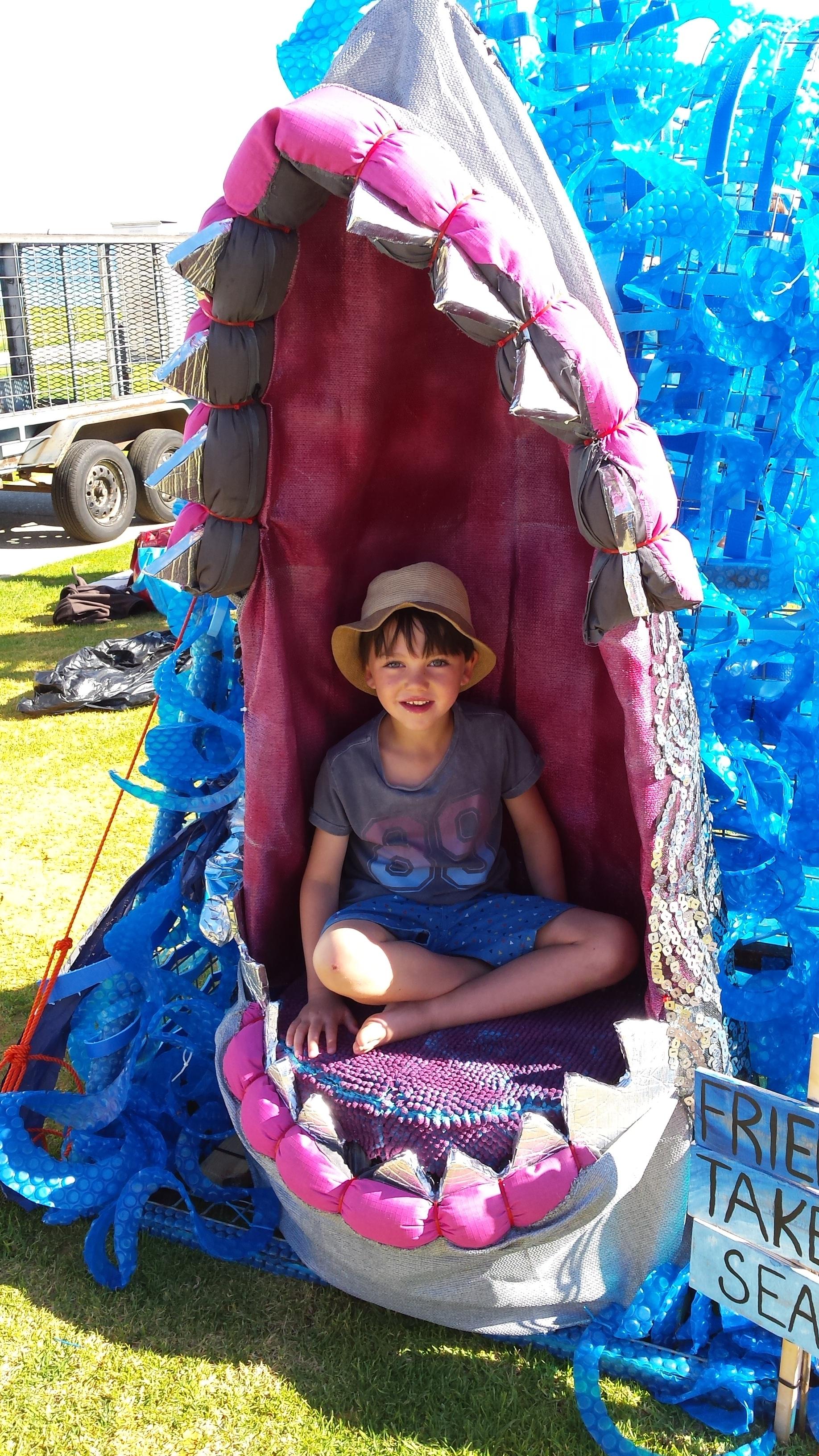 Shark Seat Sculpture