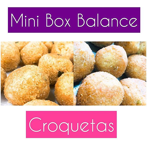 Mini Box Balance Croquetas