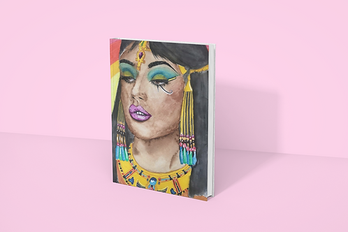 CLEO I Softcover Notebook