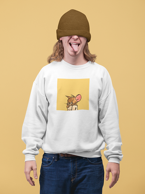 JERRY GOT CAUGHT I Eco Friendly Sweatshirt