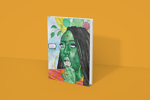 PLANTHEAD I Softcover Notebook