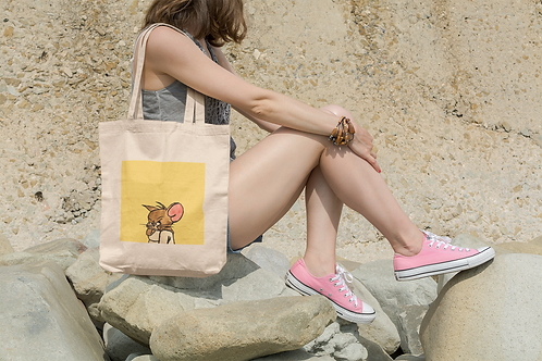MOODY JERRY I Organic Cotton Tote Bag