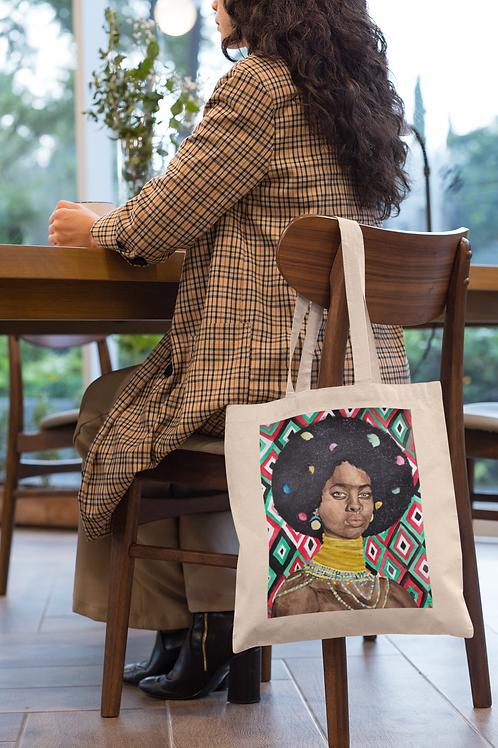 LAILA I Organic Cotton Tote Bag