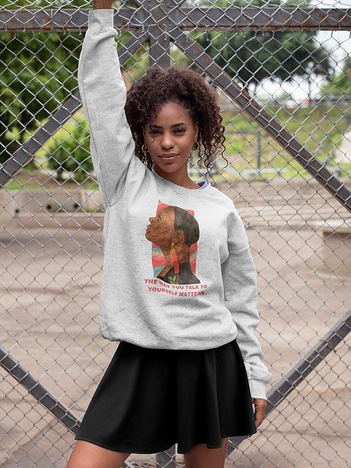 BE NICE TO YOURSELF I Eco Friendly Sweatshirt