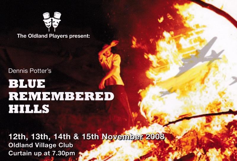 Blue Remembered Hills flyer