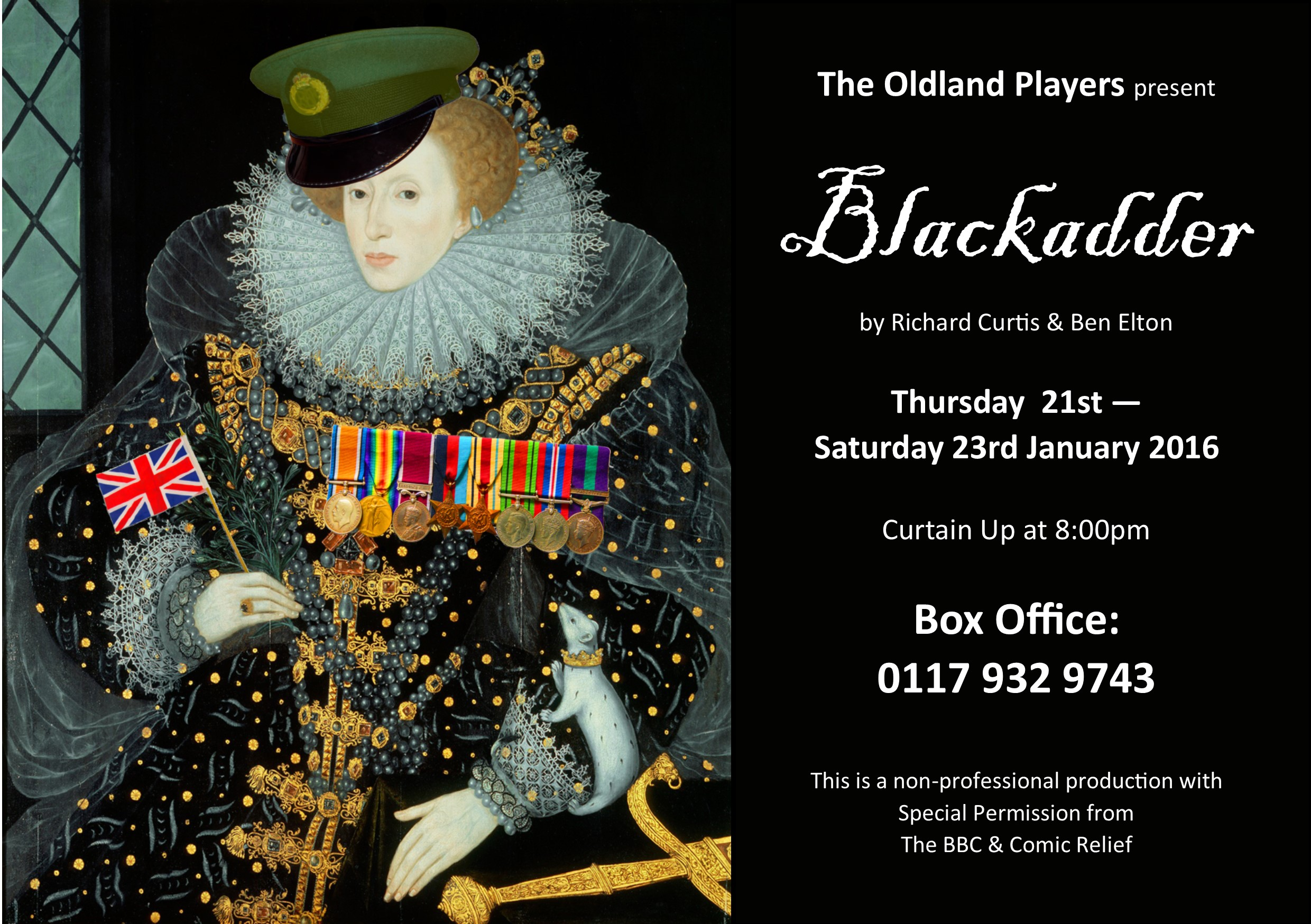 Blackadder flyer