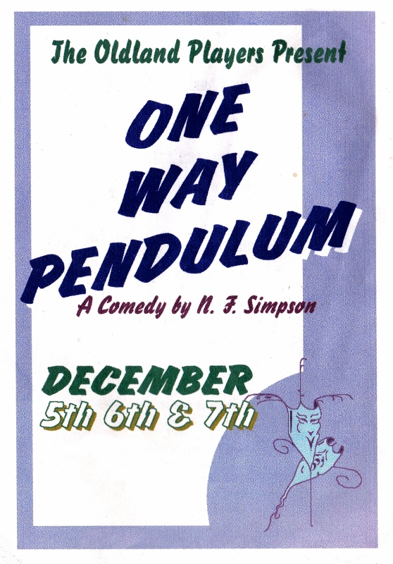 One Way Pendulum - Programme