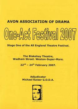 Avon  One Acts 2007