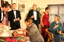 Miss Rogers collapses