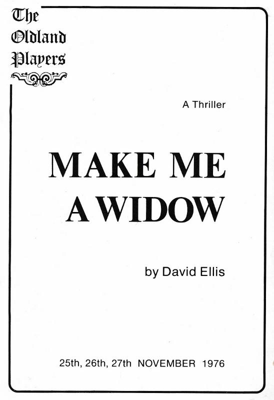 Make Me a Widow