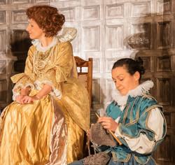 In the court of Queen Elizabeth I
