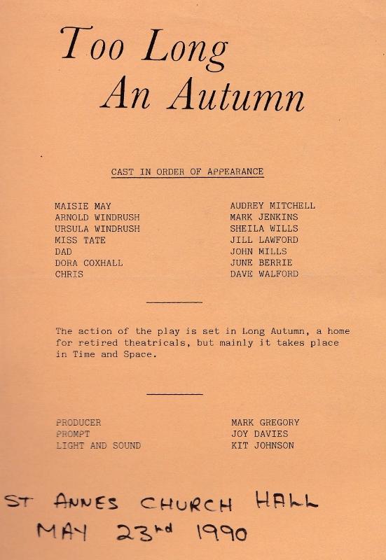 Too Long an Autumn