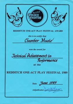 Chamber Music Award