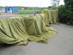 St Anne's - airing the curtains