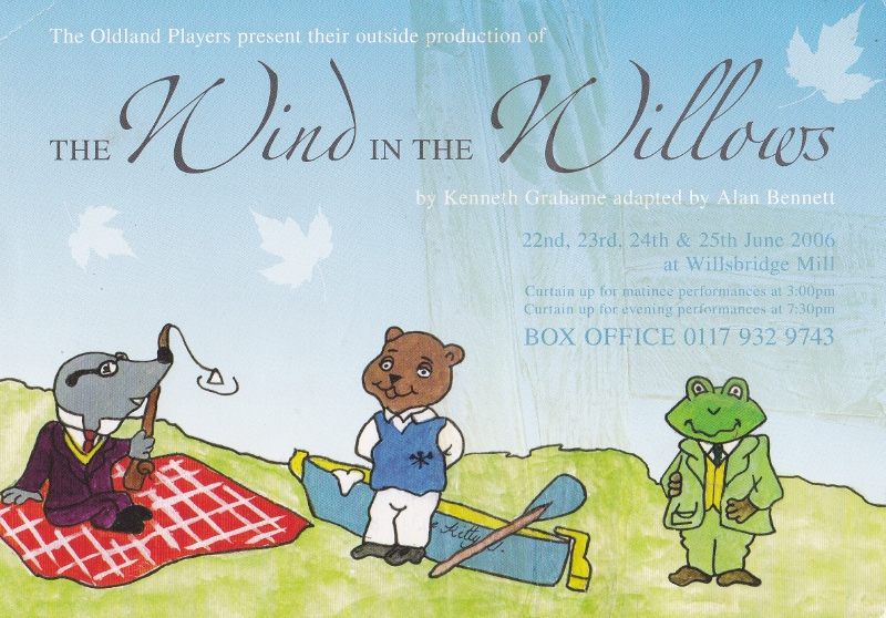 Wind in the Willows flyer