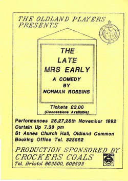 The Late Mrs Early