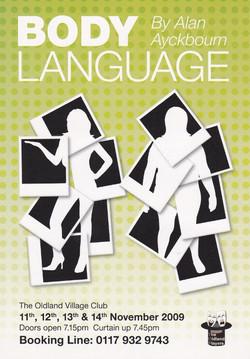 Body Language flyer