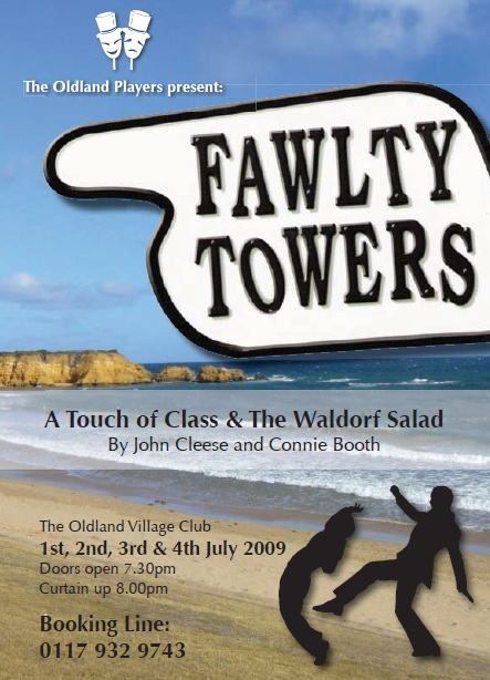 Fawlty Towers flyer