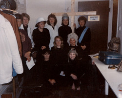 Chamber Music cast backstage